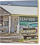Seafood Wood Print