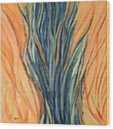 Seagrass Sold Wood Print