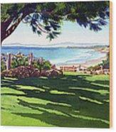 Seagrove Park Del Mar Wood Print