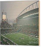 Seahawks Stadium 2 Wood Print