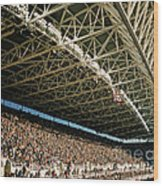 Seahawks Stadium 4 Wood Print