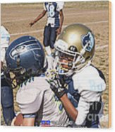 Seahawks Vs Bruins 8384 Wood Print
