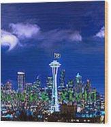 Seahawks Xlviii Wood Print