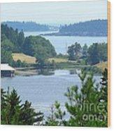 Seal Harbor Maine Wood Print