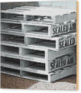 Sealed Air Is So Fresh Wood Print