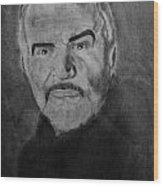 Sean Connery First Knight Wood Print