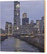 Sears Tower Or Willis Tower Wood Print