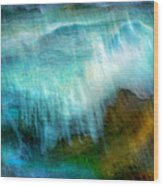 Seascape #20 - Touching Your Hand Wood Print