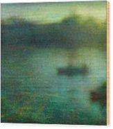 Seascape #23. Retreat Pond Wood Print