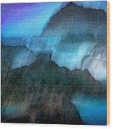 Seascape #9 -bay's Dusk- Wood Print
