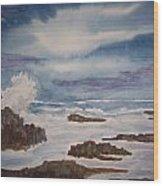Seascape Five Wood Print