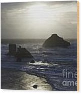 Seascape Oregon Coast 4 Wood Print