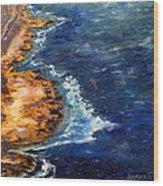 Seascape Series 5 Wood Print