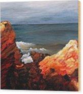 Seascape Series 6 Wood Print