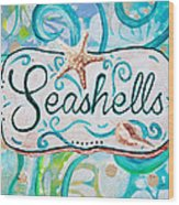 Seashells IIi Wood Print