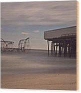 Seaside Carnage Wood Print by Richard Zoeller