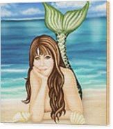 Seaside Daydreams Wood Print