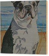 Seaside Harold Wood Print