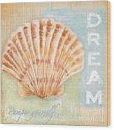 Seaside Retreat-d Wood Print