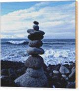 Seaside Serenity Wood Print