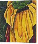 Season Avocado Wood Print