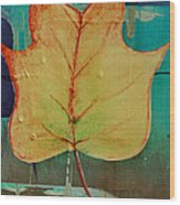 Season Of Change Piece 2 Of 2 Wood Print