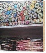 Season Of Kites Wood Print