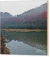 Seasons Hush Wood Print