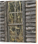 Seasons Past Wood Print