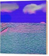 Sea.sun Wood Print