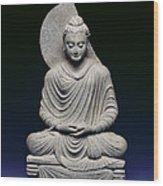 Seated Buddha Wood Print