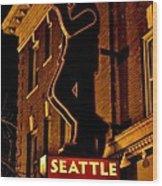 Seattle Coffee Works Wood Print