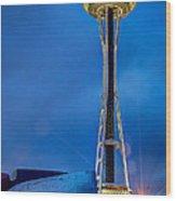 Seattle Impressions Wood Print