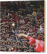 Seattle Mariners V Los Angeles Angels Wood Print