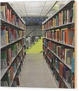 Seattle Public Library Wood Print
