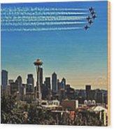 Seattle Seafair Wood Print