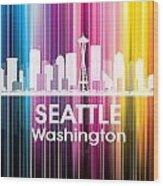 Seattle Wa 2 Wood Print