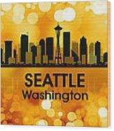 Seattle Wa 3 Wood Print