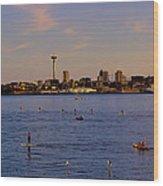 Seattle Waterfront 2 Wood Print