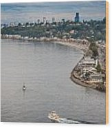Seattle Waterfront 3 Wood Print
