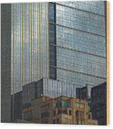 Seattle Windows Wood Print