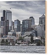 Seattle's Skyline Wood Print
