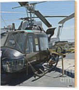 Seawolves Uh-1 Wood Print