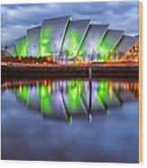 Secc Glasgow Scotland Wood Print