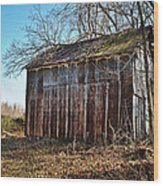 Secluded Barn Series Wood Print