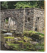 Secluded Domicile Wood Print