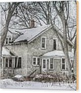 Secluded Old House Wood Print