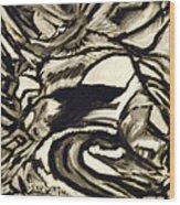 Secret Cave Wood Print