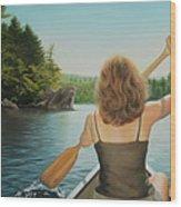 Secret Cove Wood Print