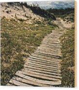 Secret Path Wood Print